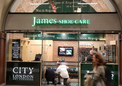 James Shoe Care - London Bridge